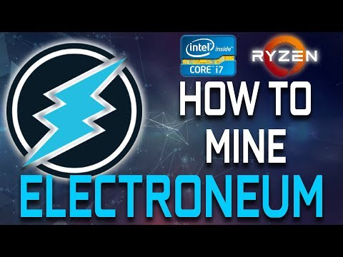 How To Mine Electroneum With Your CPU