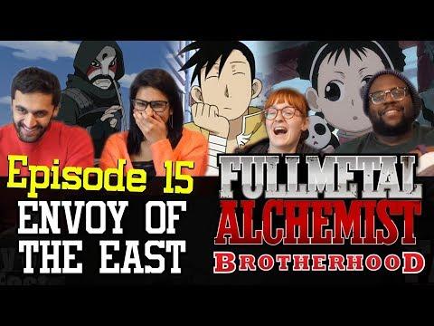 Fullmetal Alchemist: Brotherhood - 1x15 Envoy of the East - Group Reaction