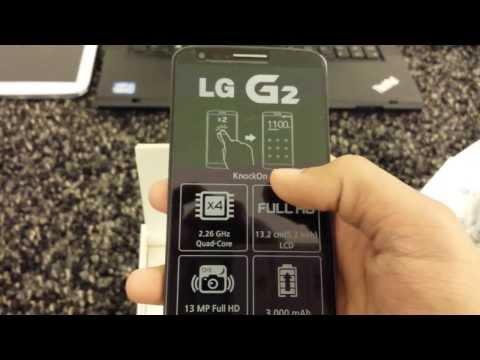 فتح صندوق إلجي جي تو بالعربي LG G2 D802