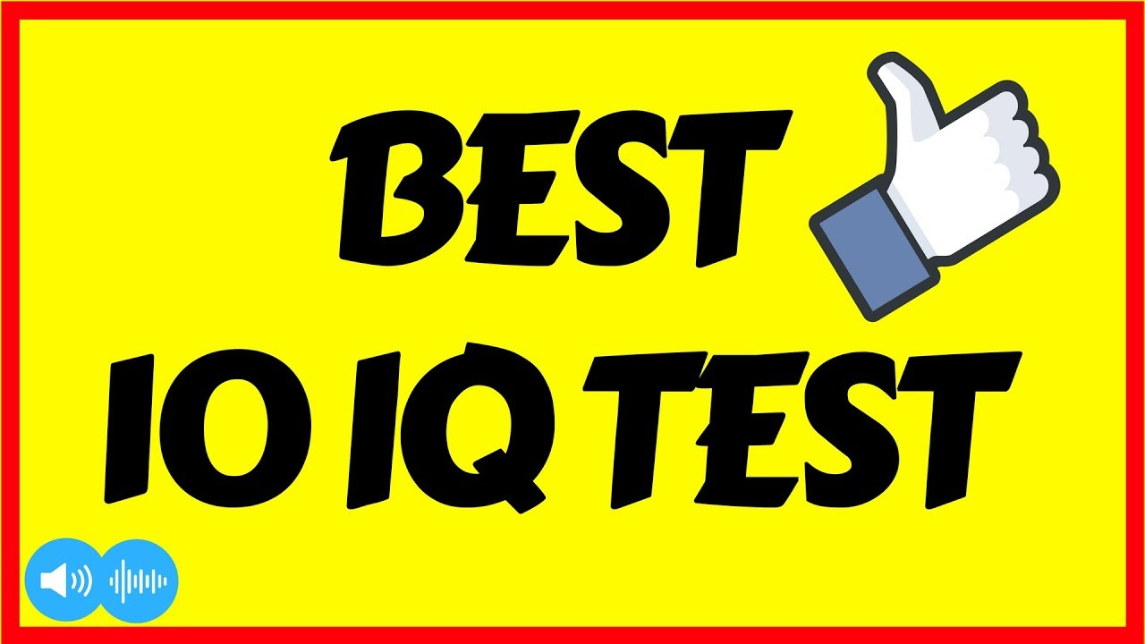 Best 10 Easy IQ Test Questions and Answers Only For Ginues ...
