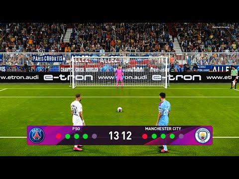 PES 2020 | PSG vs Manchester City | UEFA Champions League ...