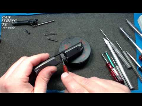 Ruger LCP 380 Complete disassembly and reassembly`