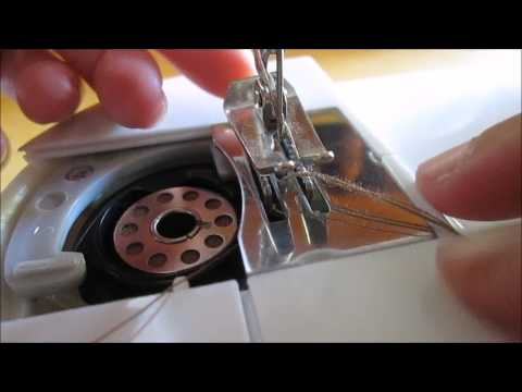 How To Use Mini Sewing Machine SM40A YouTube Beauteous Mini Sewing Machine Use