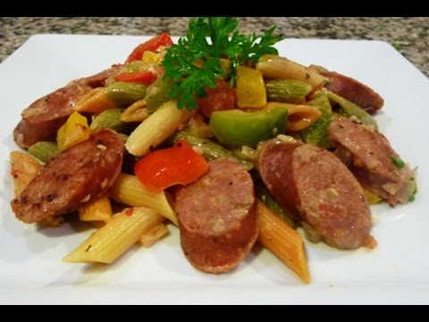 Italian For Dinner: Penne With Italian Sausage (How To)