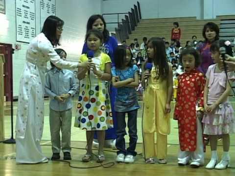 Lễ Mãn Khóa mùa Xuân 2009 - trường Việt Ngữ Hoài Hương, Maryland - 17-5-2009