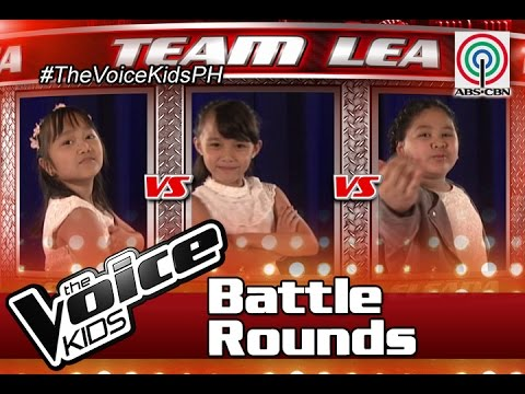 "The Voice Kids Philippines Battle Rounds 2016: ""Rain"" by  Faye, Eleana & Yessha"