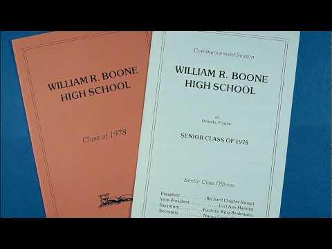 William R Boone High School   Class of '78   What a Wonderful World
