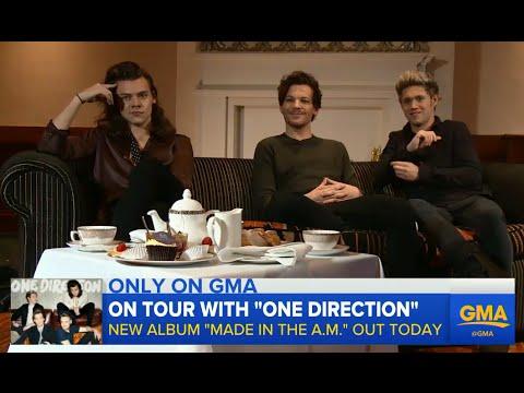 One Direction Talks New Album, Hotel Experiences