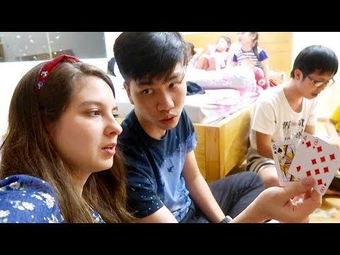 Playing Cards in Vietnam! Vietnam Vlogs Day 11