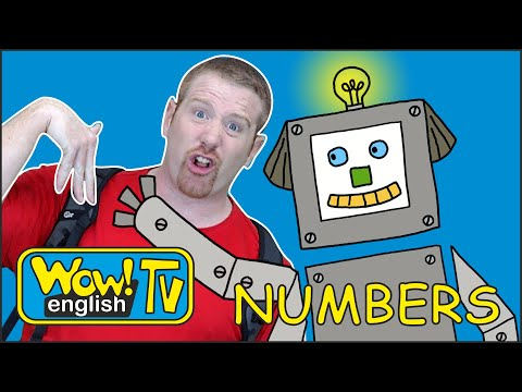 Counting Numbers for Kids + MORE Stories from Steve and Maggie | Wow English TV