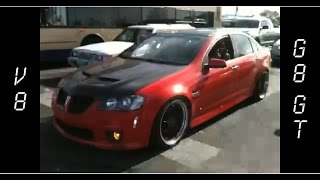 The LOUDEST 400hp Pontiac G8 Showing off