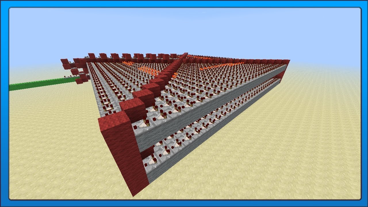 minecraft tech  most compact redstone memory  1kb  1024