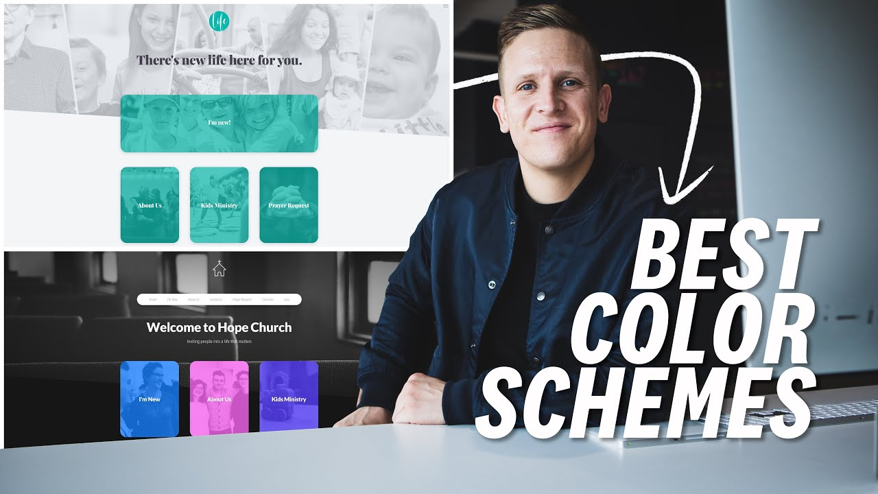 Best Color Schemes For Church Websites Youtube