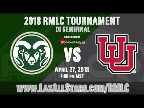 Utah vs. Colorado State - RMLC Semifinal, MCLA D1