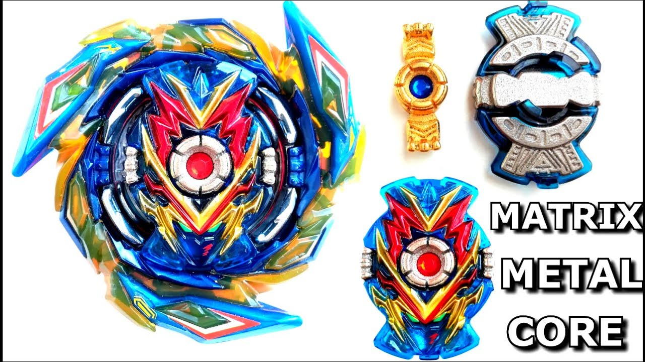 Matrix Core Metal Fillers 3D Printed Review Beyblade Burst SuperKing Sparking Heavy Chipベイブレードバースト超王