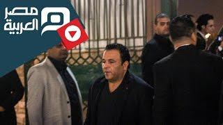 مصر العربية | محمد فؤاد وسوسن بدر وسمير غانم بعزاء الساحر