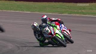 2018 Bennetts British Superbike Championship, Round 7, Thruxton, Race 1