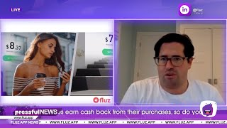 Pressful Interview: Maurice Harary CEO of Fluz App