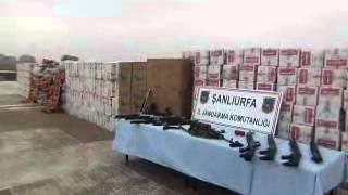 Suriye Sınırda Kaçak Operasyonu URFAHABER24.COM