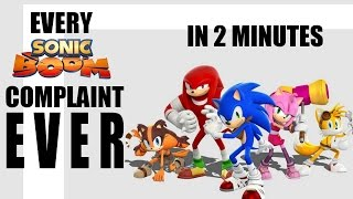 Every Sonic Boom Complaint EVER in Under 2 Minutes