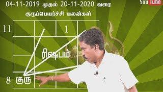 ரிஷபம் ராசி 2019-2020 குருப்பெயர்ச்சி பலன்கள் | Taurus Zodiac Gurupeyarchi Benefits | RK Astrologer