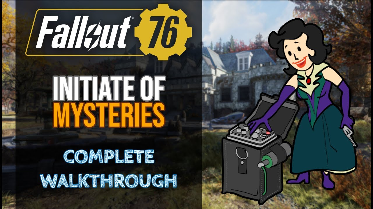 Fallout 76 Initiate Of Mysteries Quest Walkthrough