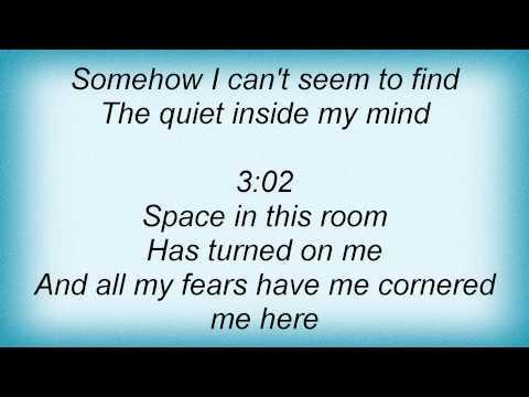 John Mayer - Quiet Lyrics
