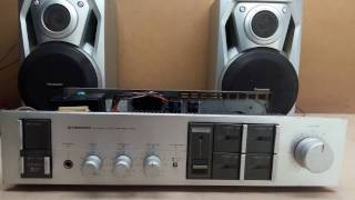 Pioneer SA-740 Stereo Amplifier service,repair and modification.