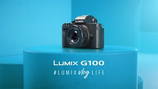 Panasonic Lumix G100 kit 12-32mm Lumix DC G100 with Tripod Grip Kit GARANSI RESMI