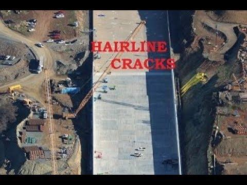 """Oroville Update 30 November """"Hairline Cracks"""""""