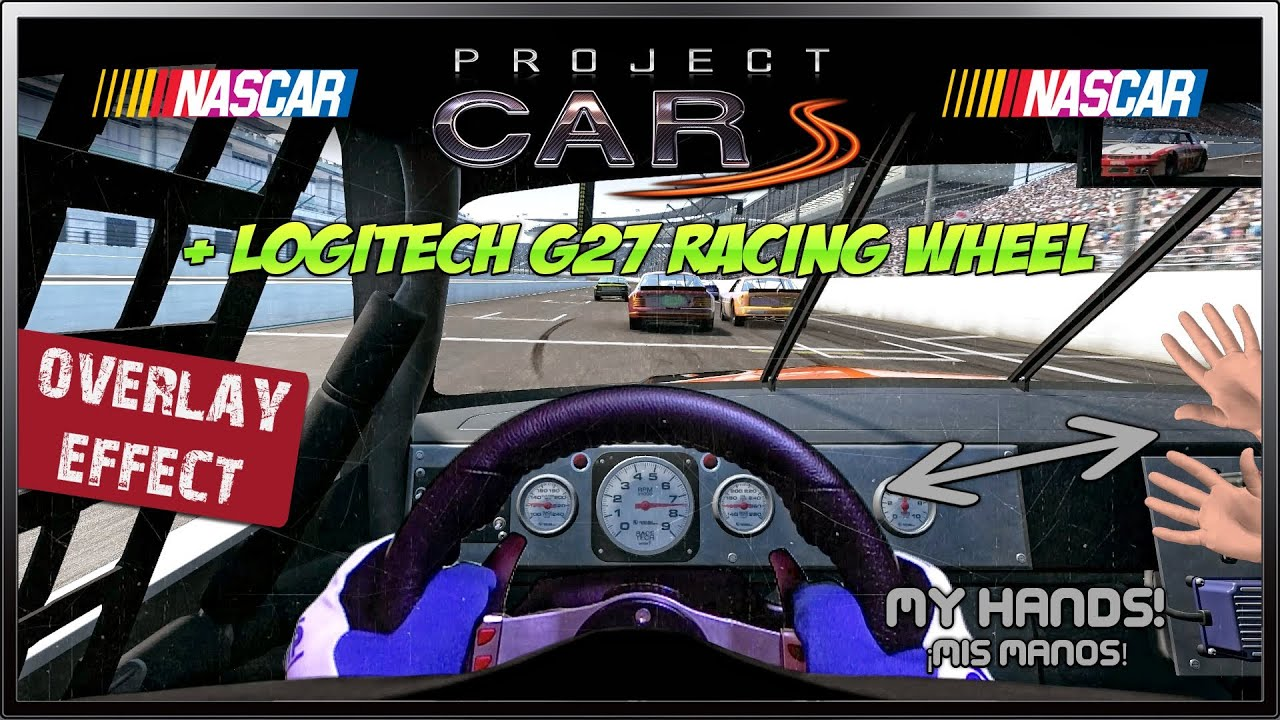 project cars overlay effect nascar race indianapolis youtube. Black Bedroom Furniture Sets. Home Design Ideas