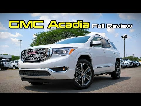 2019 GMC Acadia: FULL REVIEW | The Gentleman's Traverse!