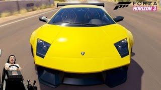 Гипербезбашенная 1450-сильная Lamborghini Murcielago LP670-4 SV Forza Horizon 3