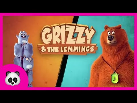 Run with Grizzy - Бегите с Гриззи - Grizzy and the lemmings Game | Zlata Game Time