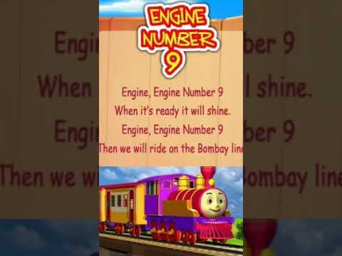 Download 4 year baby learning nursery rhymes | engine engine number 9 | nursery rhymes