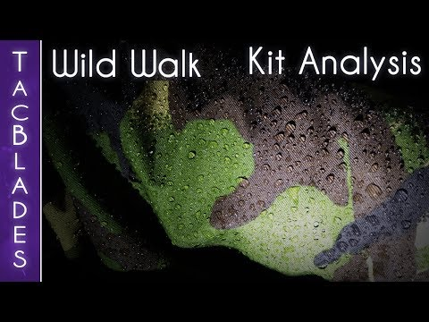 Kit Analysis from the Wild Walk