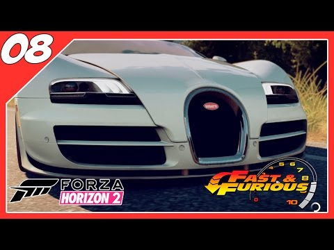 forza horizon 2 dlc velozes furiosos 8 bugatti veyron youtube. Black Bedroom Furniture Sets. Home Design Ideas
