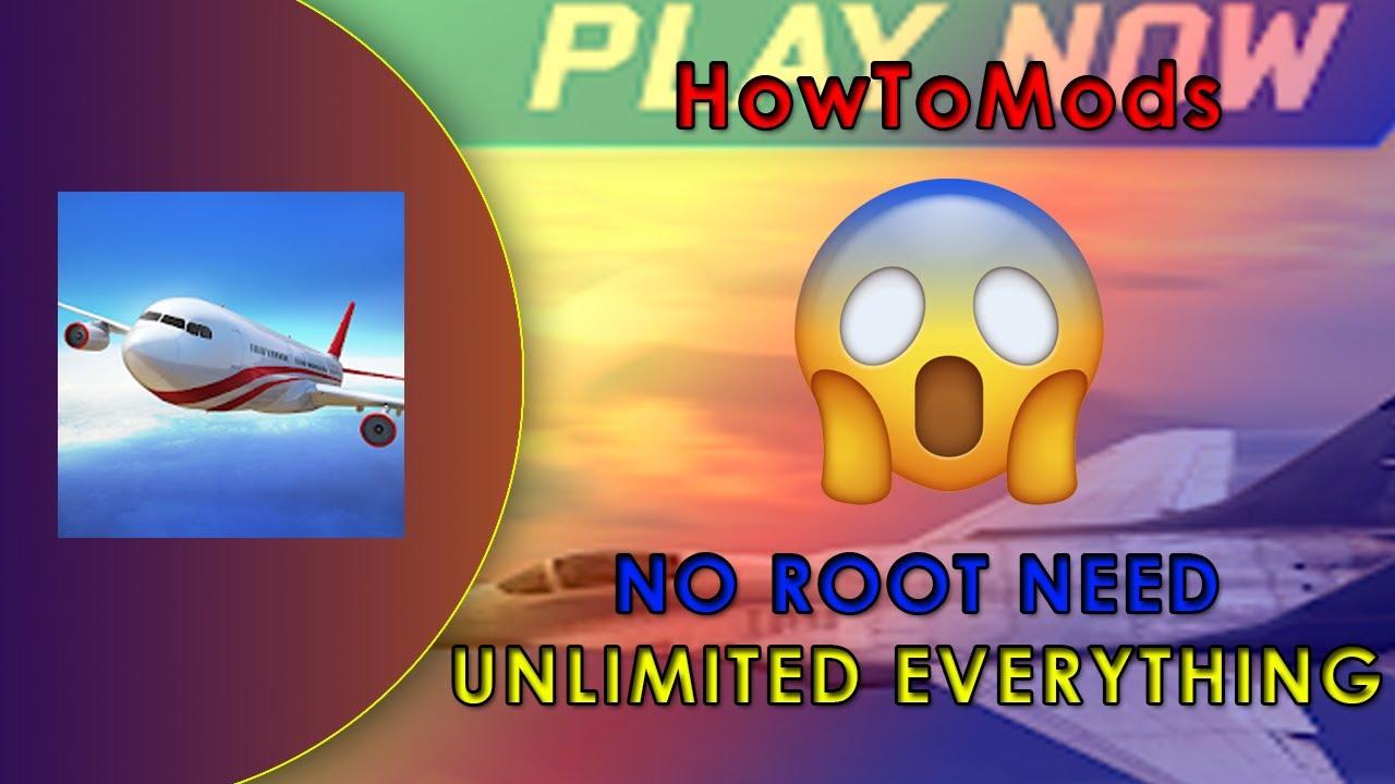 Flight Pilot Simulator 3D Unlimited Money Mod Apk - YouTube