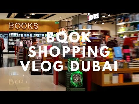 Book shopping in Dubai 🛒📚🌃