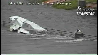 WATCH LIVE: Crews rescuing man in high water on Highway 288 and MacGregor