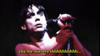 Iggy Pop - China Girl - subtitulado español