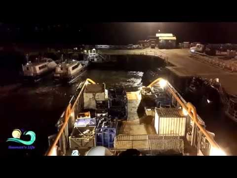 Offshore Timelapse #2 - Approaching to Dock