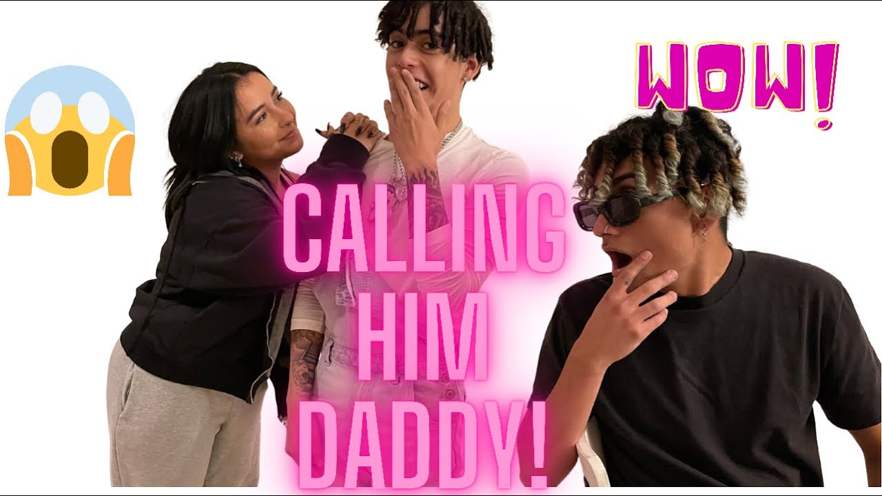 CALLING HIM DADDY IN FRONT OF HIS BEST FRIEND..(AWKWARD?