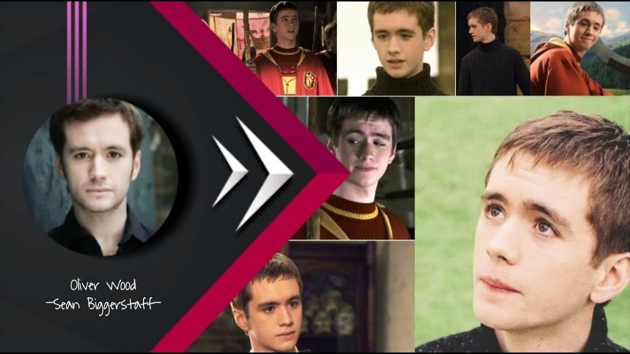OLIVER WOOD All Scenes in Harry Potter 🏰 - YouTube