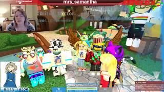 🔴 ROBLOX LIVE 🔴 Mrs. Samantha Deathrun!
