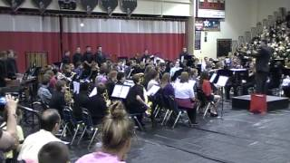 Conner Middle School Symphonic Band-Themes From Green Bushes(2013 Spring Concert)