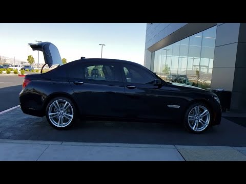 2015 BMW 7 Series Las Vegas, Henderson, North Las Vegas, Nevada, San Bernardino County L20123A