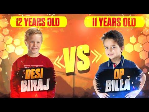 New Raistar Found? Desi Biraj VS OP Billa - 11 Years Vs 12 Years Boy  1 VS 1 ? OverPowered Gameplay