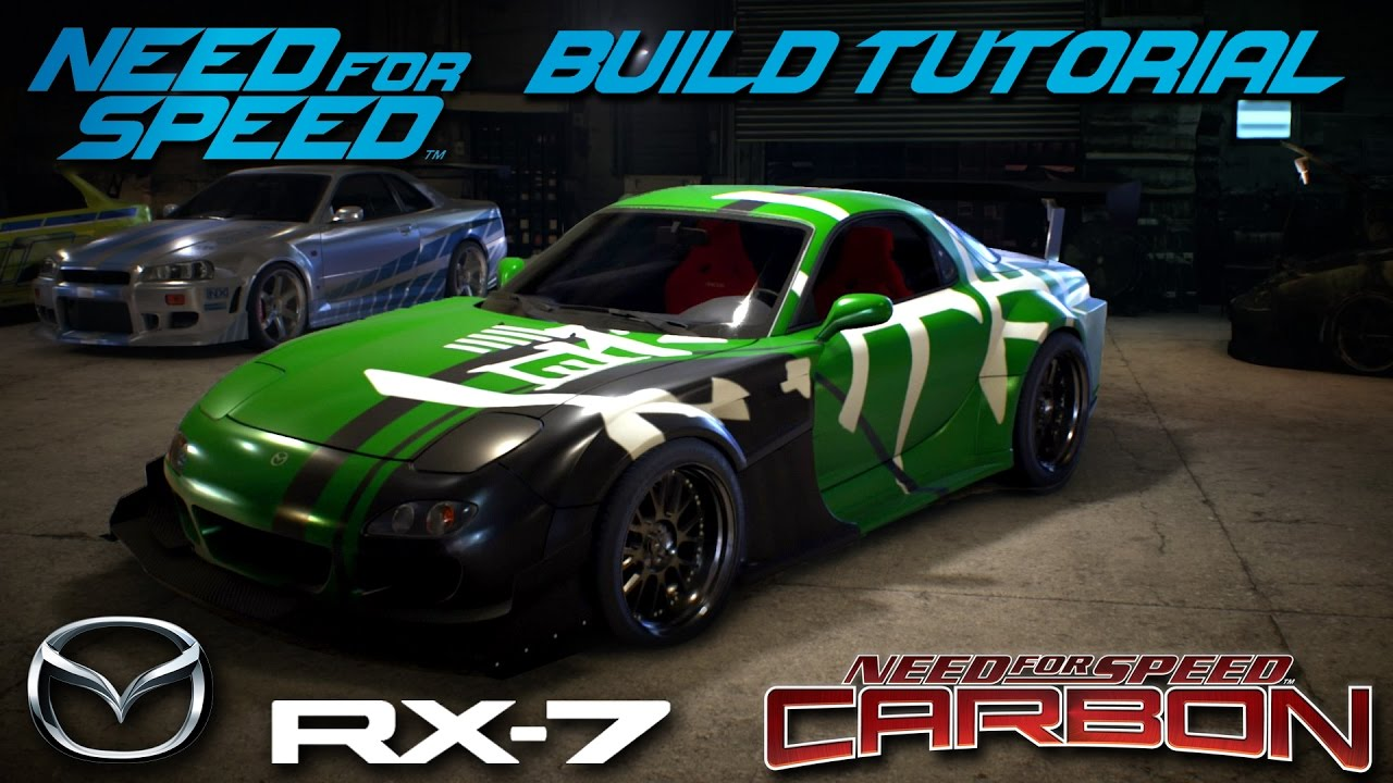 Need For Speed 2015 Carbon Kenji S Bushido Mazda Rx7 Build