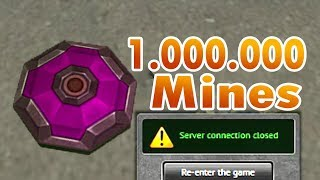 Tanki Online Road To Legend WTF 1 million mines challenge
